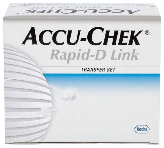 Акку-чек репид-д линк набор удлинитель для системы 70см 10 шт., фото №1