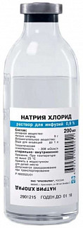 Натрия хлорид 0,9% 200мл 24 шт. раствор для инфузий красфарма