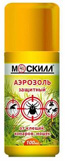 Москилл аэрозоль максимум от комаров/клещей/мошек 100мл