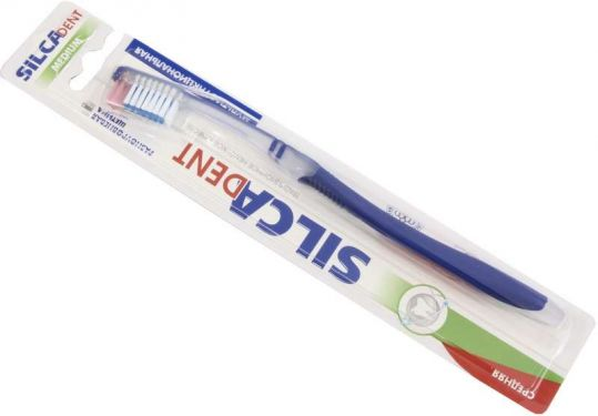 Силка зубная щетка дент средняя, фото №1