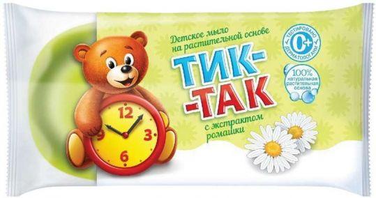 Тик-так мыло детское с экстрактом ромашки 75г, фото №1
