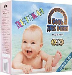 Ресурс здоровья соль для ванн детская морская 1кг