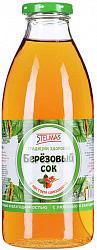 Стэлмас сок березовый с шиповником 0,73л упаковка