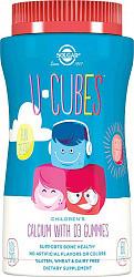 Солгар ю-кьюбс с кальцием и витамином d3 мармелад для детей 60 шт.