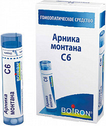 Арника монтана с6 5г гранулы гомеопатические