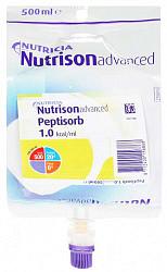 Нутризон эдванст пептисорб смесь для энтерального питания 0,5л