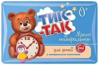 Тик-так мыло детское миндальное молочко 90г