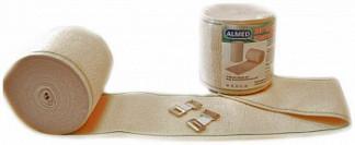 Альмед бинт эластичный медицинский компрессионный ср 80ммх0,6м с застежкой