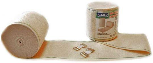 Альмед бинт эластичный медицинский компрессионный ср 80ммх0,6м с застежкой, фото №1