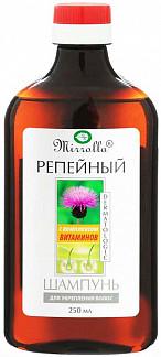 Мирролла шампунь репейный укрепляющий с комплексом витаминов 250мл
