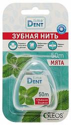 Таймдент зубная нить объемная с мятой 50м