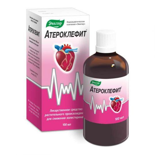 Атероклефит 100мл экстракт для приема внутрь жидкий, фото №1