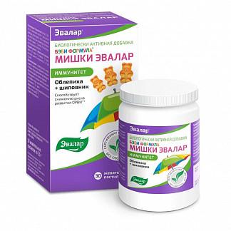 Бэби формула мишки пастилки жевательные иммунитет 30 шт. эвалар