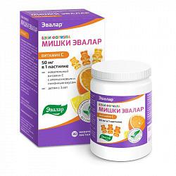 Бэби формула мишки пастилки жевательные с витамином с 30 шт.
