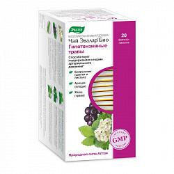 Эвалар био гипотензивные травы чай 1,5г 20 шт. фильтр-пакет