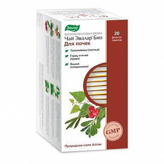 Эвалар био для почек чай 1,5г 20 шт. фильтр-пакет эвалар