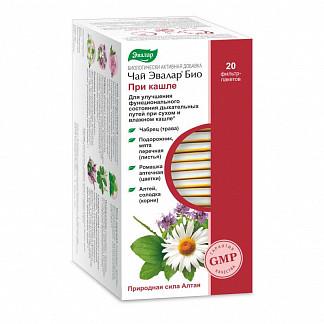 Эвалар био при кашле чай 2г 20 шт. фильтр-пакет эвалар