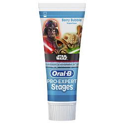 Орал-би зубная паста детская stages winni ягодный взрыв 75мл