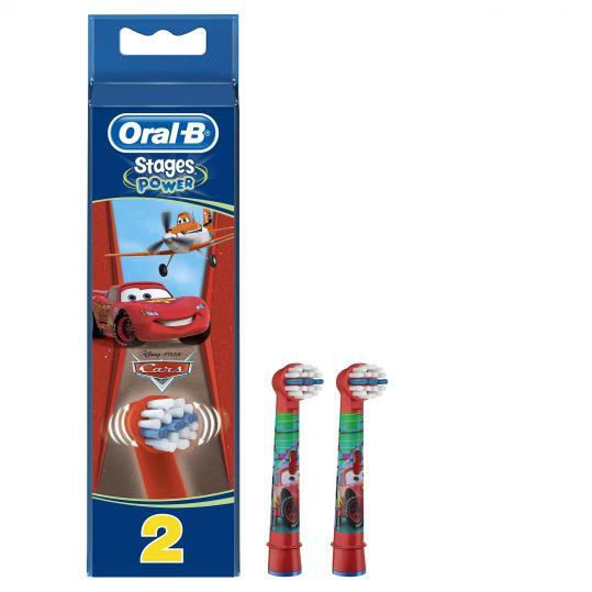 Орал-би насадки для детской электрической зубной щетки 2 шт., фото №1