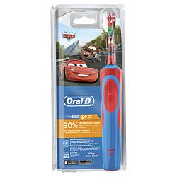 Орал-би виталити зубная щетка электрическая детская тачки d12.513к (тип 3709)