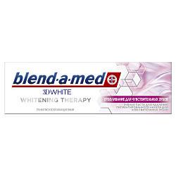 Бленд-а-мед 3д вайт зубная паста вайтенинг терапи отбеливание для чувствительных зубов 75мл