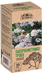 Цветущий луг трава тысячелистника 20 шт. фильтр-пакет