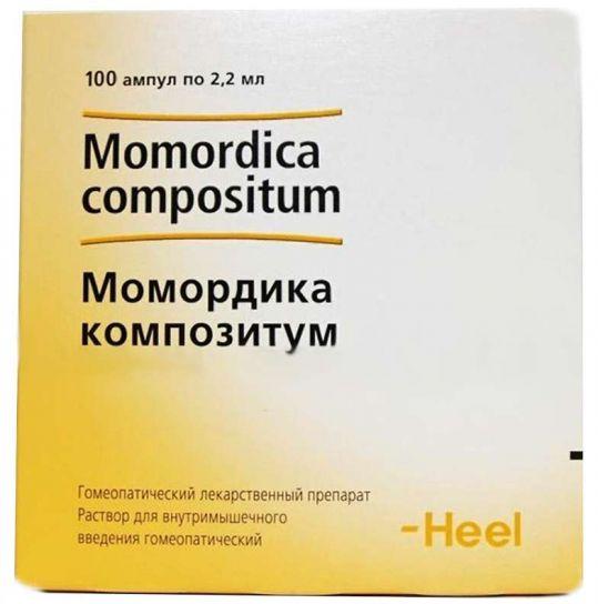 Момордика композитум 2,2мл 100 шт. раствор ампулы biologische heilmittel heel gmbh, фото №1