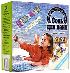 Соль для ванны детская череда 500г