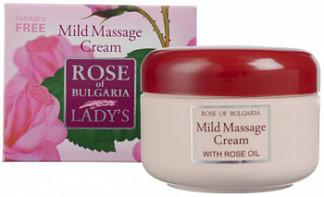 Роуз оф болгария (rose of bulgaria) крем для тела массажный смягчающий 330мл