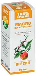 Лекус масло косметическое персик 25мл