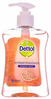 Деттол мыло жидкое антибактериальное для рук с ароматом грейпфрута 250мл