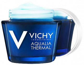 Виши аквалия термаль уход-маска ночной для интенсивного увлажнения кожи 75мл