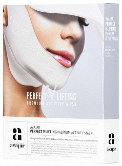 Аваджар перфект в лифтинг маска для лица с spf защитой 5 шт.