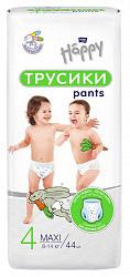 Белла беби хеппи пантс подгузники-трусы макси 8-14кг 44 шт.