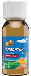 Кларитин 1мг/мл 60мл сироп, фото №3