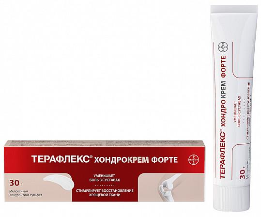 Терафлекс хондрокрем форте 1%+5% 30г крем для наружного применения, фото №2