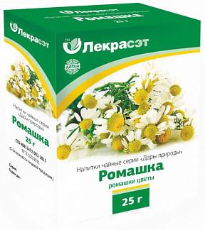 Ромашки цветки дары природы чайный напиток 25г