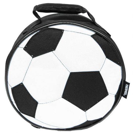 Сумка-термос black soccer novelty lunch, фото №1
