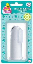Лабби зубная щетка первая 4+ арт.908399