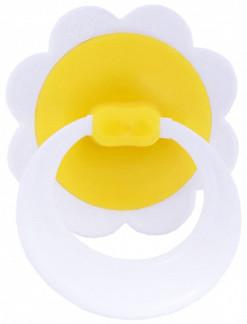Соска-пустышка латексная ромашка с кольцом