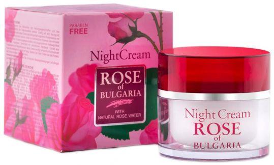 Роуз оф болгария крем для лица ночной 50мл, фото №1