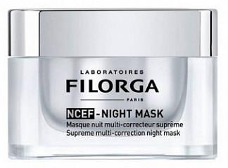 Филорга ncef маска для лица ночная мультикорректирующая 50мл