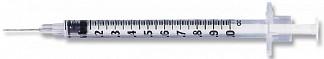 Шприц лейко (leiko) туберкулин 0,45х12мм 1 мл