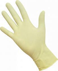 Перчатки сфм (sfm) латексные смотровые нестерильные размер l (8-9) №1 пара