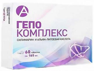 Гепо комплекс таблетки покрытые оболочкой 60 шт.