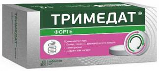 Тримедат форте 300мг 60 шт. таблетки с пролонгированным высвобождением покрытые пленочной оболочкой