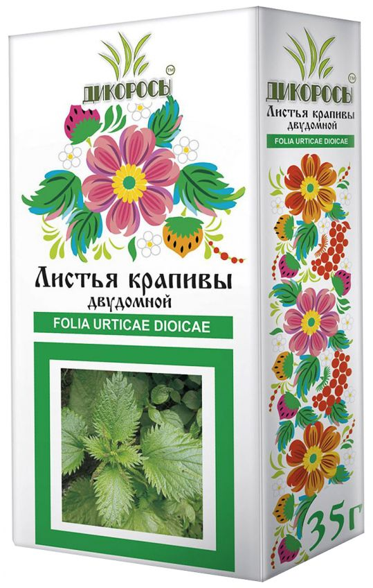 Дикоросы листья крапивы двудомной 35г, фото №1