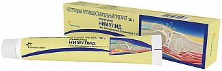 Нимулид 1% 30г гель для наружного применения