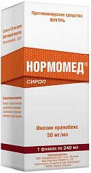 Нормомед 50мг/мл 240мл сироп