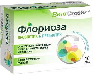Витастронг флориоза порошок 1,7г 10 шт.
